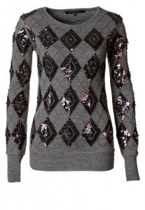 French Connection CARNIVAL KNIT JUMPER – Pullover – grey melange bei Zalando