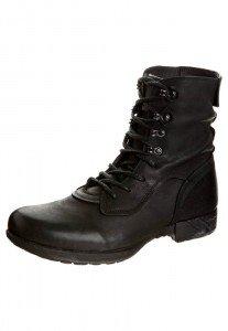 Bunker BAND-FU - Boots - black, ca. € 170,- - gesehen online bei Zalando