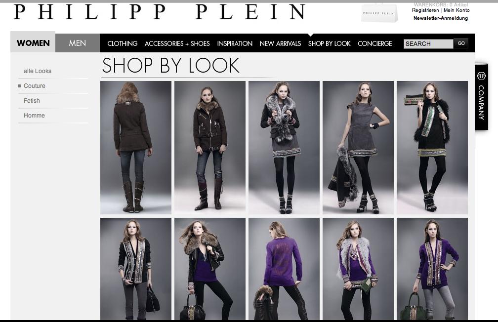Philipp Plein E-Flagshipstore