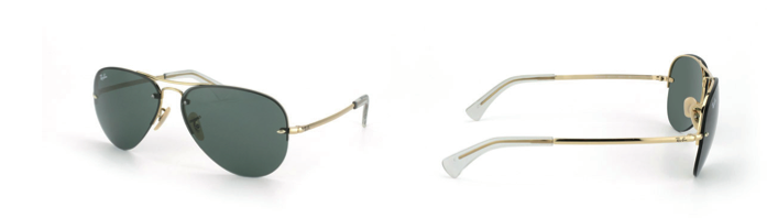 der Klassiker: Ray Ban Sonnenbrille gold