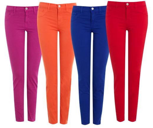 Jeans des New Yorker Labels J brand sind treue Begleiter
