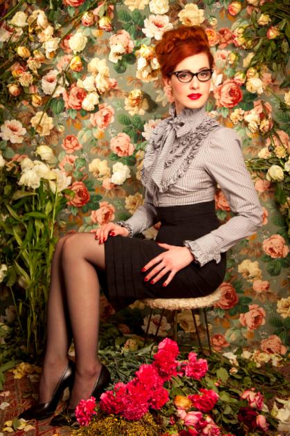Lena Hoschek - Secretary Style: Bleistiftröcke und Schluppenblusen