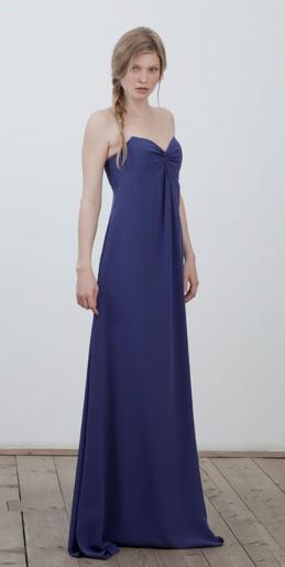 Abendkleid, blau