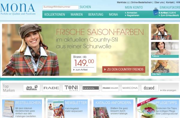 Damenmode online Shop