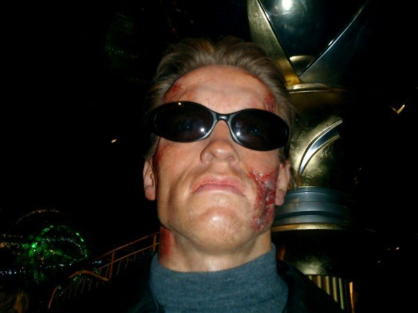 Halloween Party with Mr. Schwarzenegger