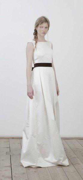 Brautkleid weiß/schwarz