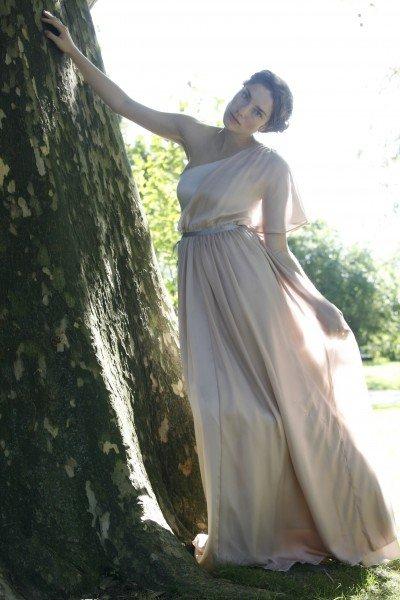 Hochzeitskleid hell