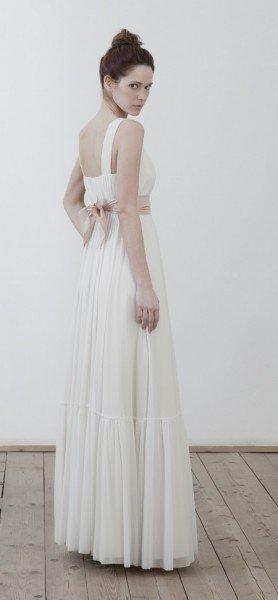 Brautkleid weiß/rosa