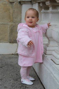 Rosa Baby-Outfit