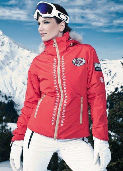 Skijacke rot, Sportalm