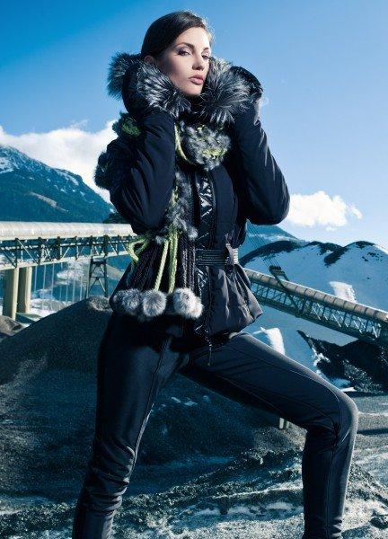 Skijacke dunkelblau