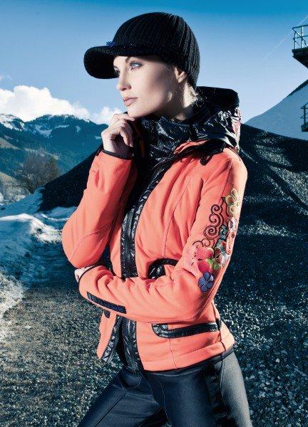 Skijacke orange