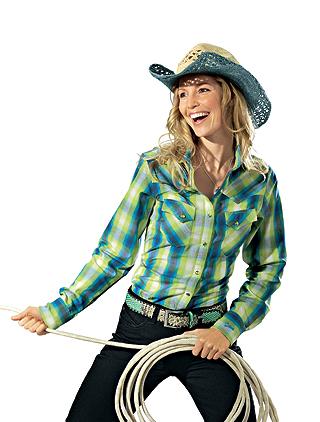 Cowboy-Hemd für Damen