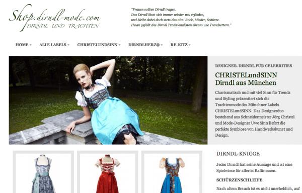Dirndl online Shop - shop.dirndl-mode.com