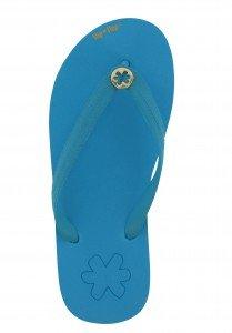 flip-flops blau, Goldflower