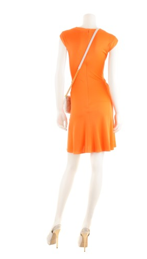 Kleid orange, Issa London