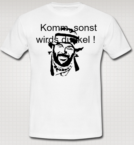 Bud Spencer - T-Shirt Druck