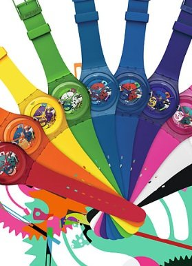 Swatch Uhren 2012 - Swatch: New Gent Lacquered