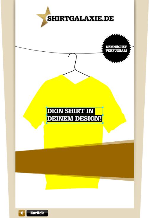 T-Shirts selbst gestalten und online shoppen!