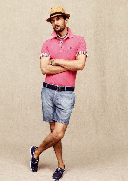 bugatti Polo und Shorts