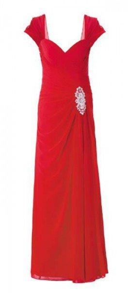 Abendkleid rot, lang